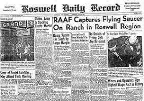 Roswell Ufo incident conspiracy theories by neilverma55