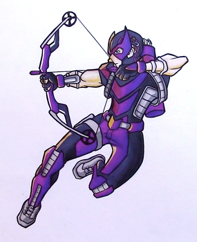 Hawkeye Redesign by AnthonyParenti