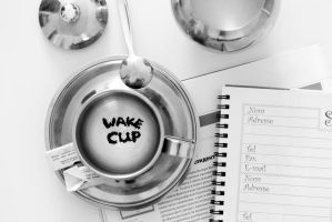 wake cup by nazarkina