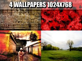 4-Wallpapers pack by samael-kun