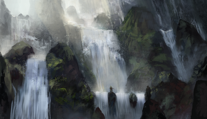 Waterfall by k04sk
