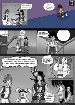 AU Vegeta in Place of Goku Comic Pg 3/7 by Ink-Puddle