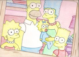 The Simpsons by dalloola1996