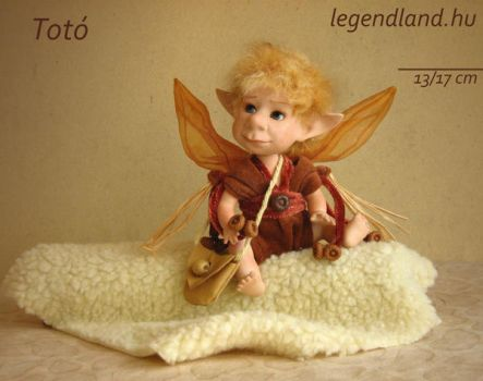 Toto young goblin art doll - poseable art doll by LegendLand