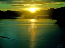 Juneau Sunset by NodokaVisualArts