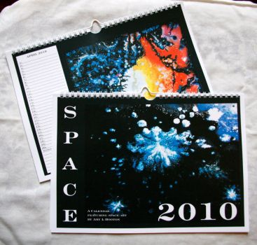 Space Calendar 2010 FOR SALE by amyhooton