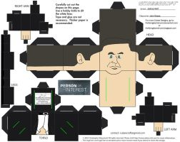 POI: John Reese Cubee by TheFlyingDachshund