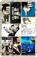 Death the Kid Collage by Lucy-chan98