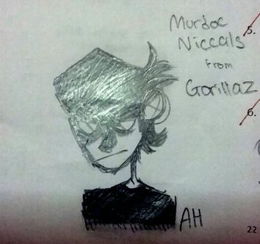 Murdoc Niccals by KittenBlackie