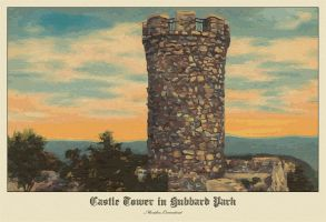 Castle Tower by ironman8855