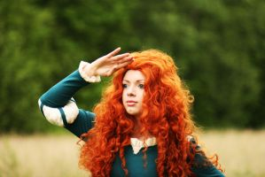 Pixar's Brave: Merida II by Knightess-Rouge