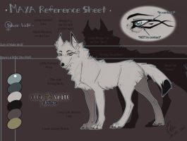 Ref Sheet Maya 2011 by Pample