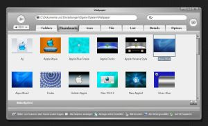 Apple-Store-Brushed Toolbar by WolfvanWhite