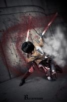 SnK - Blind Rage of Titan Bloodlust by eriotiku