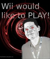 Wii Would Like to PLAY by bobdotexe