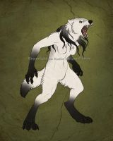 Ghost Wolf Form by Shadow-Wolf