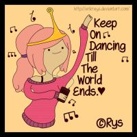Dulce Princesa (Keep' Dancing Till The World Ends) by ErikReys