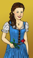OUaT Belle by HollyRoseBriar
