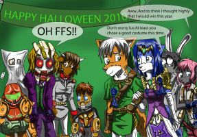 halloween comci pg 2 by MikeOrion