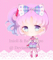 Ini-Pippo Collab- Fairy kei set price open by BabyPippo