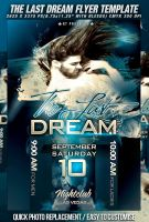 PSD TheLast Dream Flyer by retinathemes