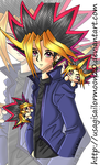 Yugi Motou As An Adult - Collab With Val by usagisailormoon20