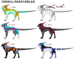 Tamakii Adoptables 5 (POINTS) ALL TAKEN by pandalecko