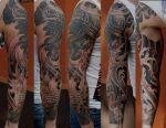 Samurai sleeve finished by strangeris