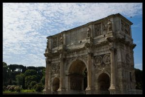 Constantine's Arch by Vagrant123