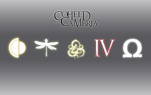 Coheed and Cambria Sleek Wallpaper by Vendictar