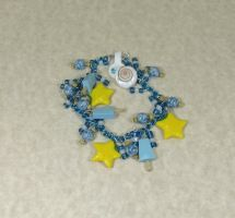 Paopu and Seasalt Icecream Blue Bracelet by kitcat4056