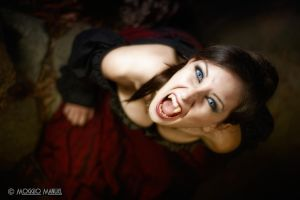 Chantal - Shooting Vampire by ManuelM81
