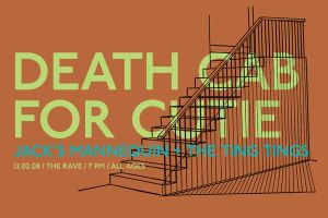 Death Cab For Cutie poster by goodmorningvoice