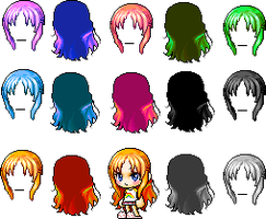 Mixed Hair 1 o3o by xcandycane5654