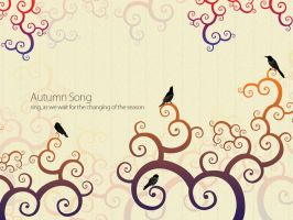 Autumn Song WP by mujiri