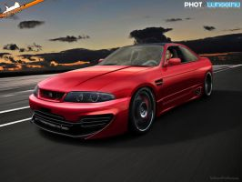 Nissan Skyline R33 by blackdoggdesign