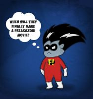 Freakazoid needs a movie! by Gromuls