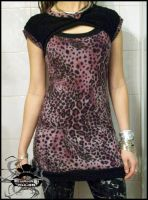 leopard shock mini dress by mamarules