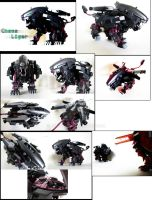 Zoid Custom - Chaos Liger by Juno-Uno