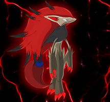 Zoroark,the ilusionist by Elsdrake