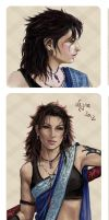 Dissidia Aces: Fang by Leyna-art