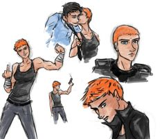 Tex Sketches by marizzo