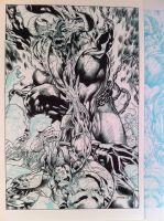 Inks process 4-Jim Lee by JosephLSilver