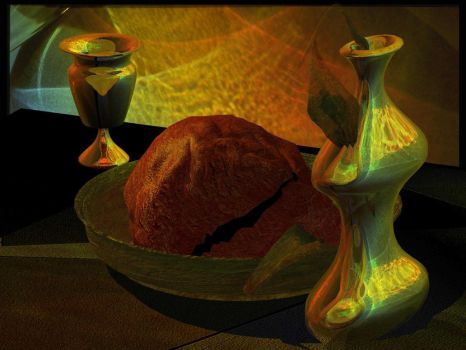 dead nature dinner by deviana