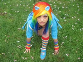 Rainbow Dash Cosplay by MiracleVivi