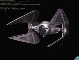 Tie Interceptor by sergiosoares