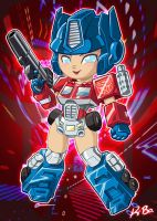 Transformer Gals: Optimiss Prime by kevinbolk