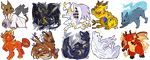 Variel icons by Keshi-Commish