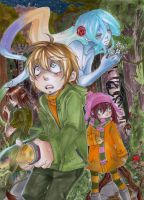 Into the scary magical forest by AsuHan