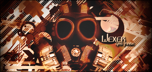 Gas Mask Power by Wexxer
